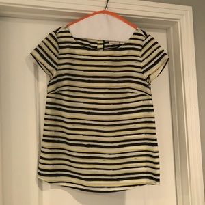 Ann Taylor LOFT short sleeve blouse
